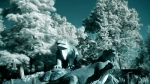 unseen light - crystal palace dinosaurs infrared