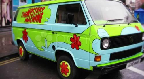 Scooby Doo Hippy Van